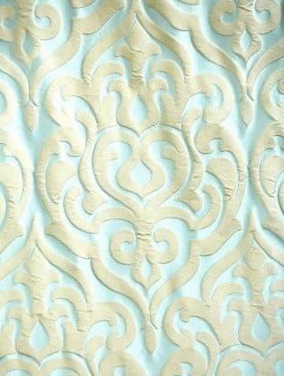 Ткань портьерная с объёмным крупным рисунком FYL 809-11 35.0 BYN