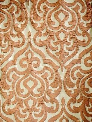 Ткань портьерная с объёмным крупным рисунком FYL 809-20 35.0 BYN