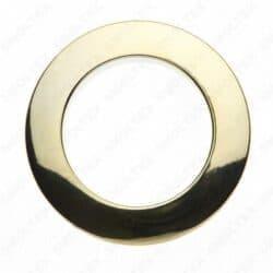 Люверс пластиковый золото Ø35