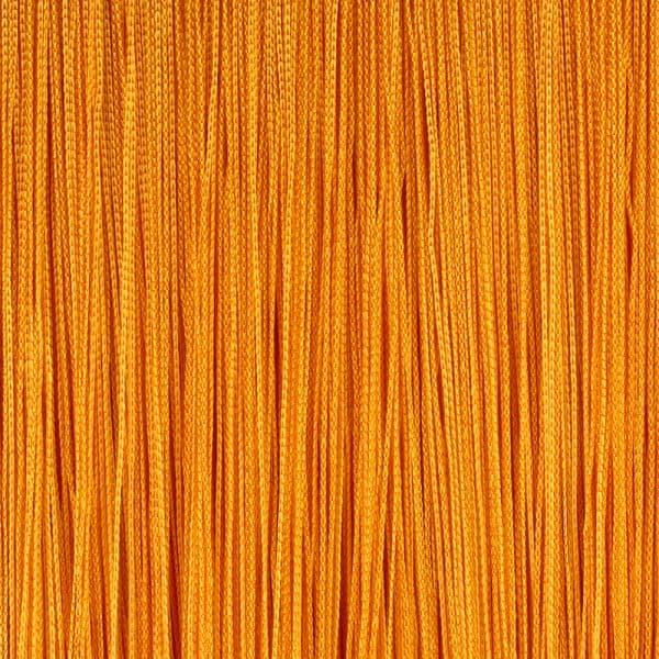 Кисея из нитей морковного цвета