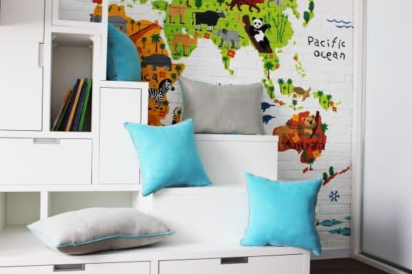 Декоративные подушечки с кантиком