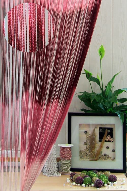 Кисея с принтом бордо/розовая/светло-розовая 120,0 BYN