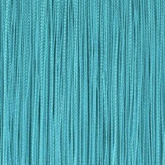 Кисея из нитей бирюзового цвета